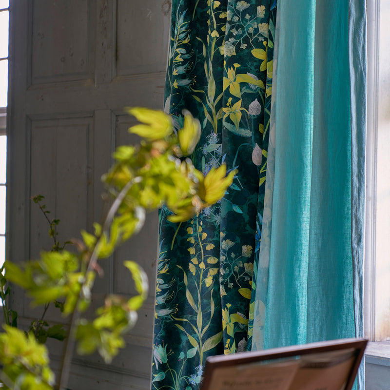 Designers Guild 'Fritillaria' Fabric Malachite Roomset