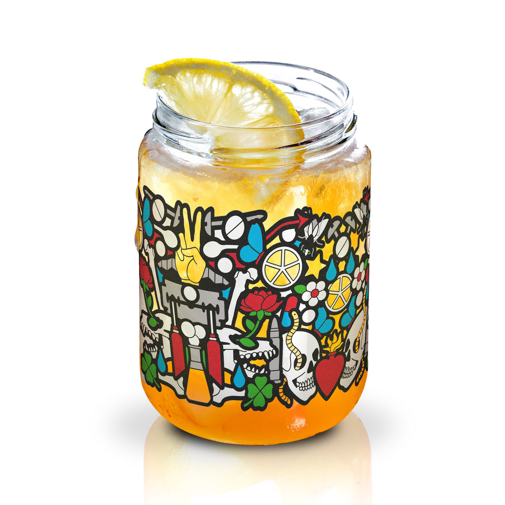 Disaronno Sour Jar Front