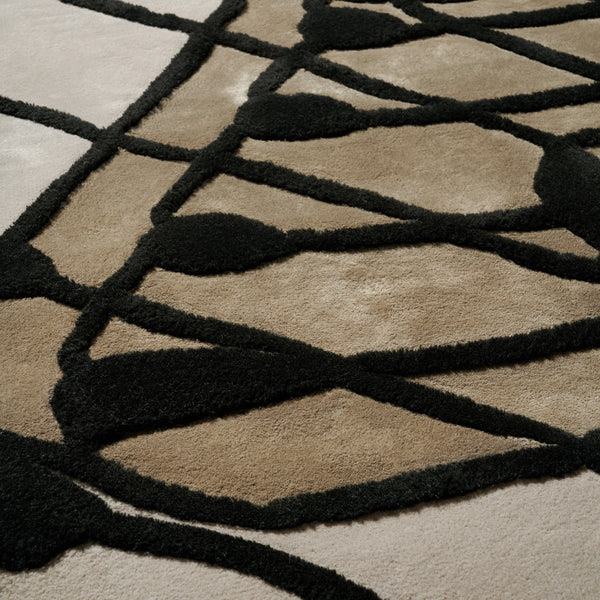 Edward Fields 'Taxonomy / Hyaline' Rug by Bec Brittain Detail