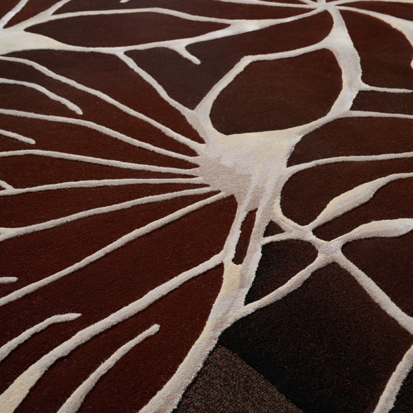 Edward Fields 'Taxonomy / Venation' Rug by Bec Brittain Detail 1