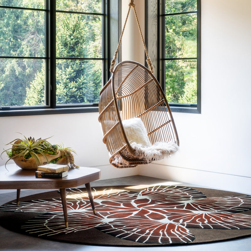 Edward Fields 'Taxonomy / Venation' Rug by Bec Brittain Roomset