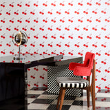 Flavor Paper for Arte 'Cherry Forever' Wallpaper Roomset