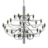 2097 30 Light Chandelier Chrome
