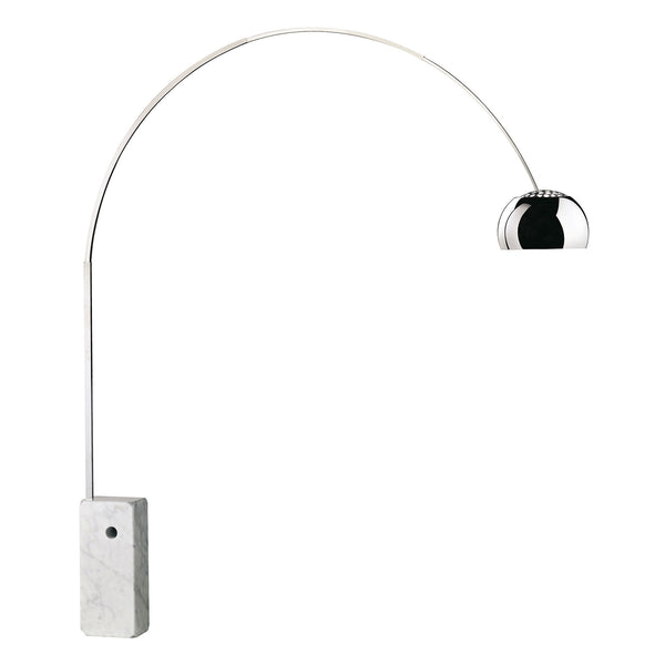 Flos Arco Floor Lamp by Achille Castiglioni Side View
