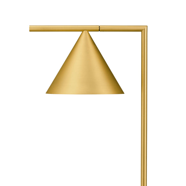 Captain Flint Brushed Brass Shade Detail