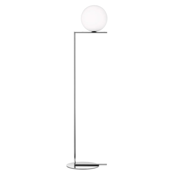 Floss IC F2 Floor Lamp by Michael Anastassiades Chrome