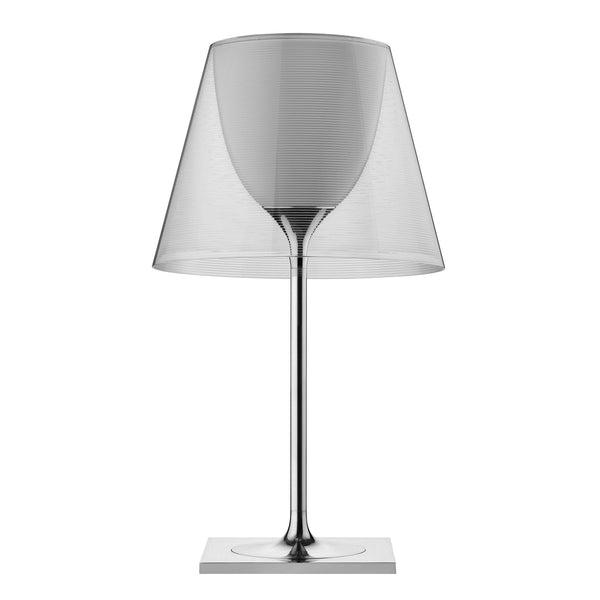 Flos KTribe T2 Table Lamp by Philippe Starck Transparent Off