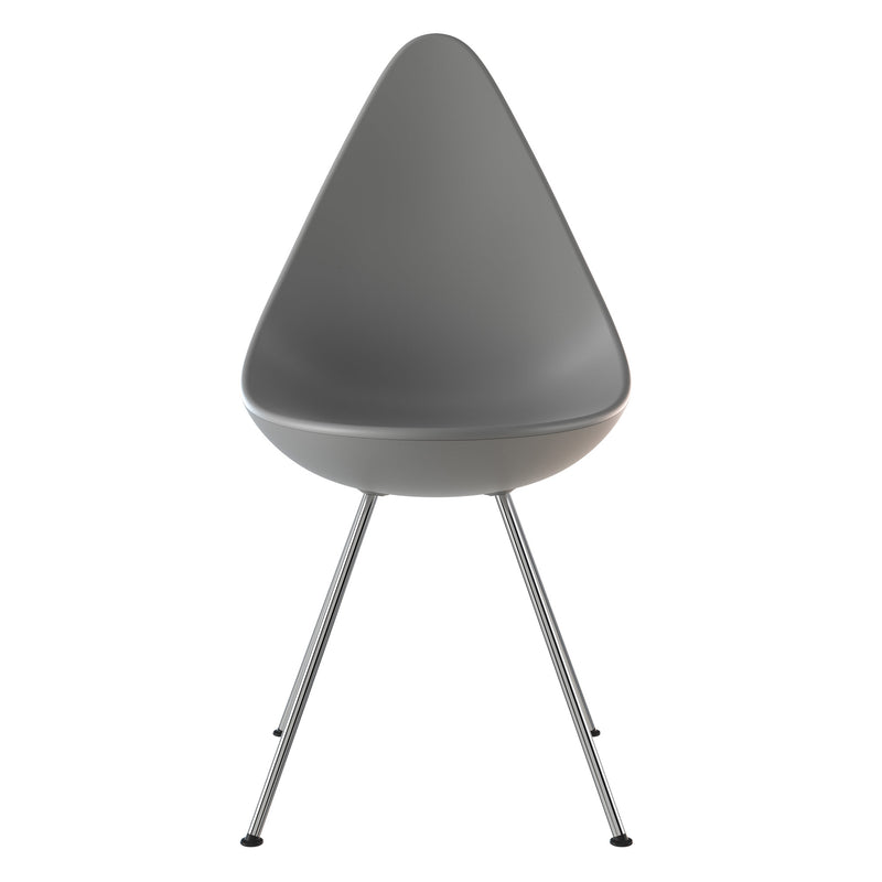 Fritz Hansen 'Drop' Chair 2019 Nine Grey