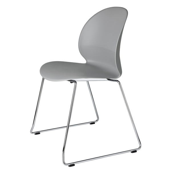 Fritz Hansen N02-20 Recycle Chair - Sled Base by Nendo Grey