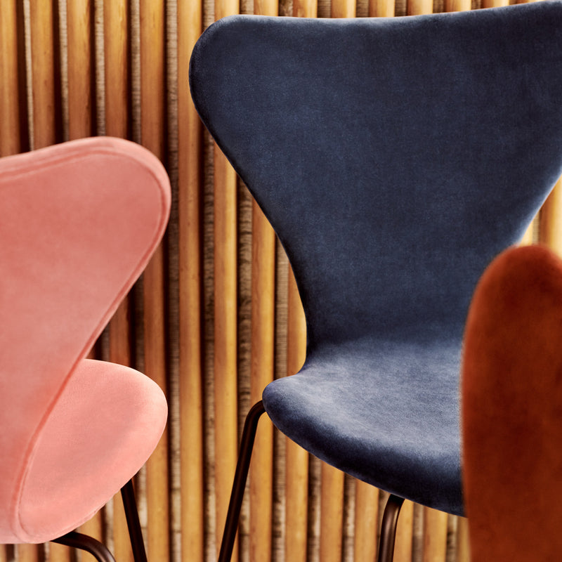 Fritz Hansen 'Series 7' Chair - Velvet Edition Detail