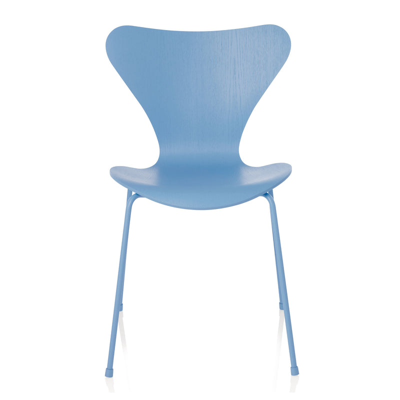Fritz Hansen 'Series 7 Chair' by Arne Jacobsen - Monochrome Blue