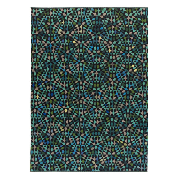 Golran 1898 Diamond Apple Green Rug by Bertjan Pot