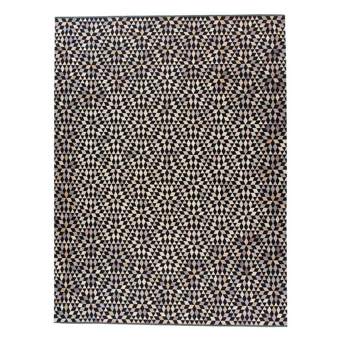 Golran 1898 Diamond Black Cream Rug by Bertjan Pot