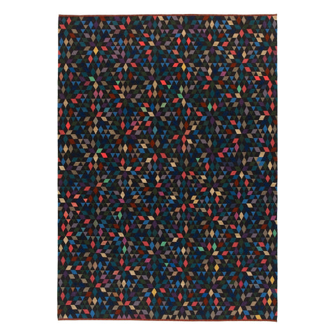 Golran 1898 Diamond Black Rug by Bertjan Pot