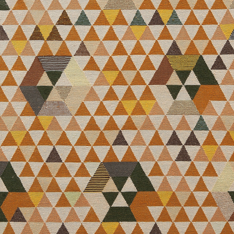Golran 1898 Trianglehex Gold Rug by Bertjan Pot Detail