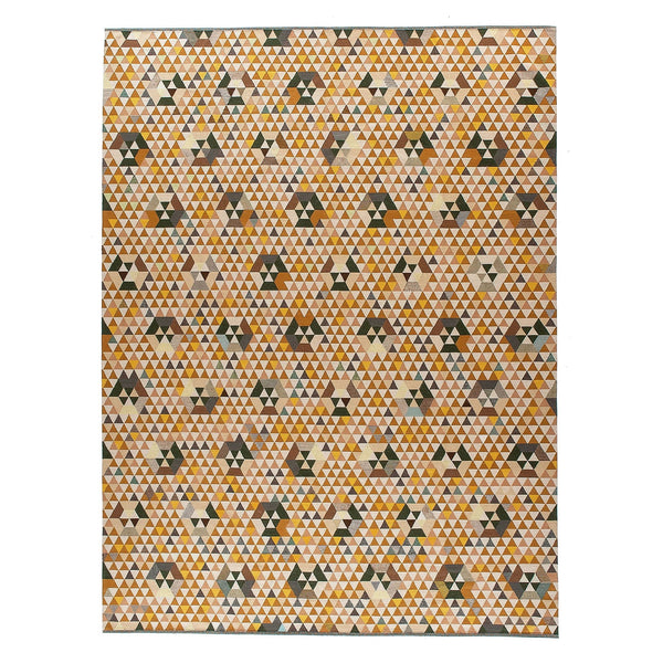 Golran 1898 Trianglehex Gold Rug by Bertjan Pot