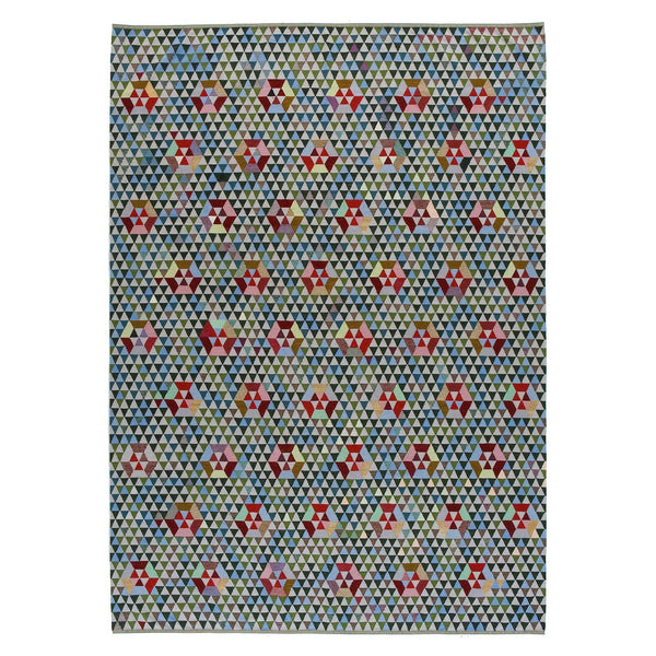 Golran 1898 Trianglehex Sweet Green Rug by Bertjan Pot