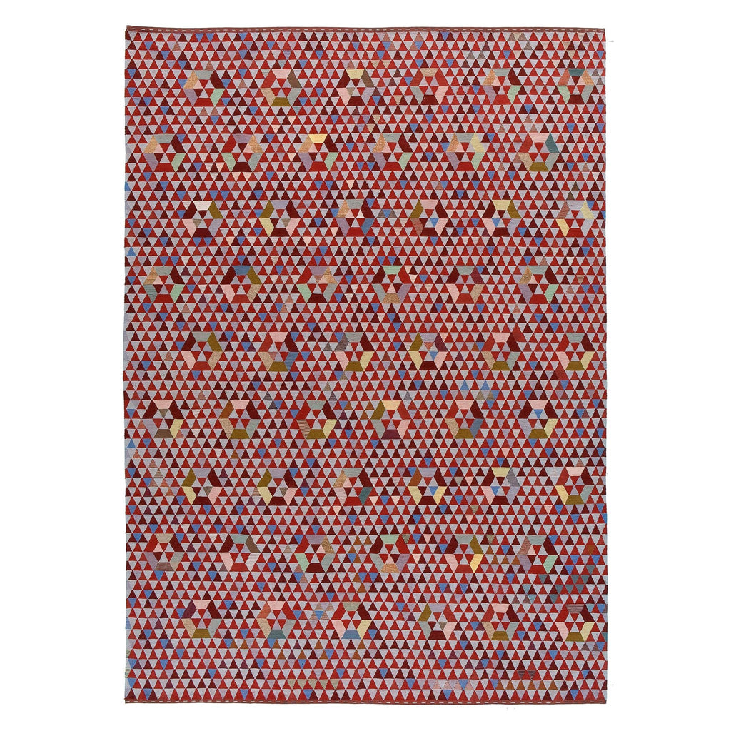 Golran 1898 Trianglehex Sweet Pink Rug by Bertjan Pot