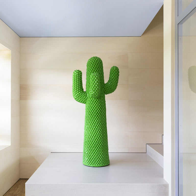 Gufram 'Another Green' Cactus Coat Stand Detail Roomset