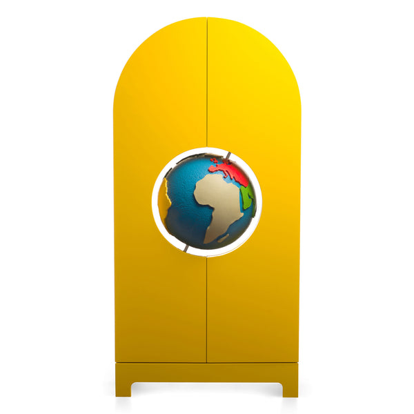 Gufram Globe Cabinet by Studio Job Closed