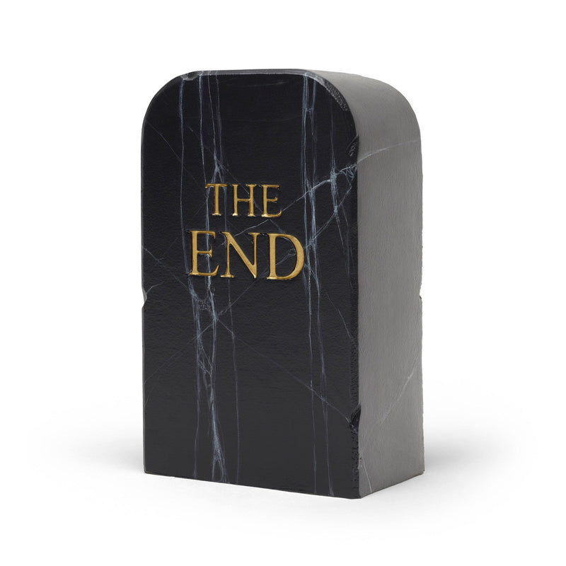 Gufram The End Black Pouf by Toiletpaper