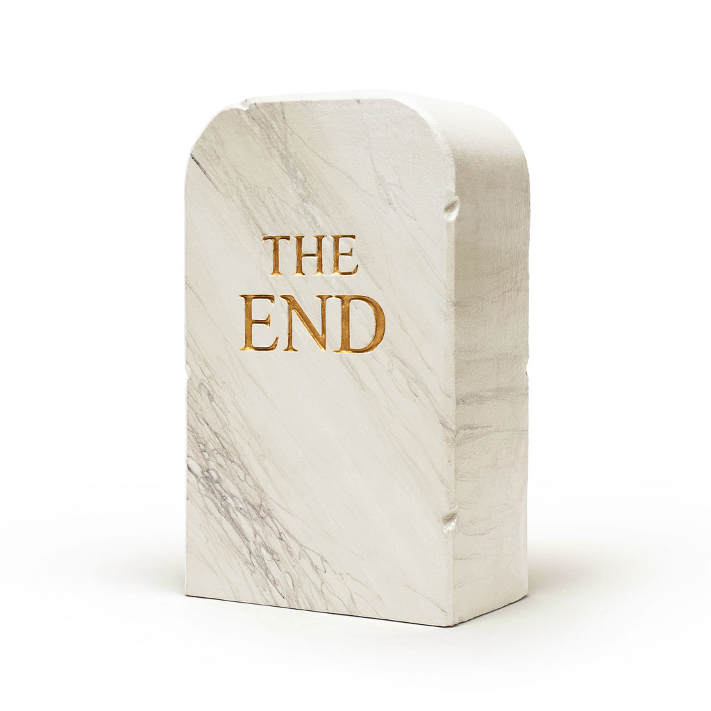 Gufram 'The End Pouf 1516' by Toiletpaper