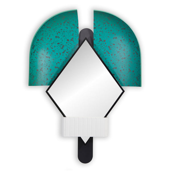 Houtique 'Bonnet' Mirror by Elena Salmistraro - Green