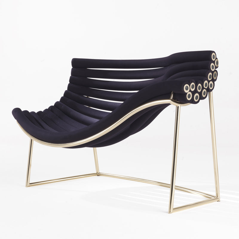 JCP Universe 'Amedea' Armchair by Debonademeo Front Angle