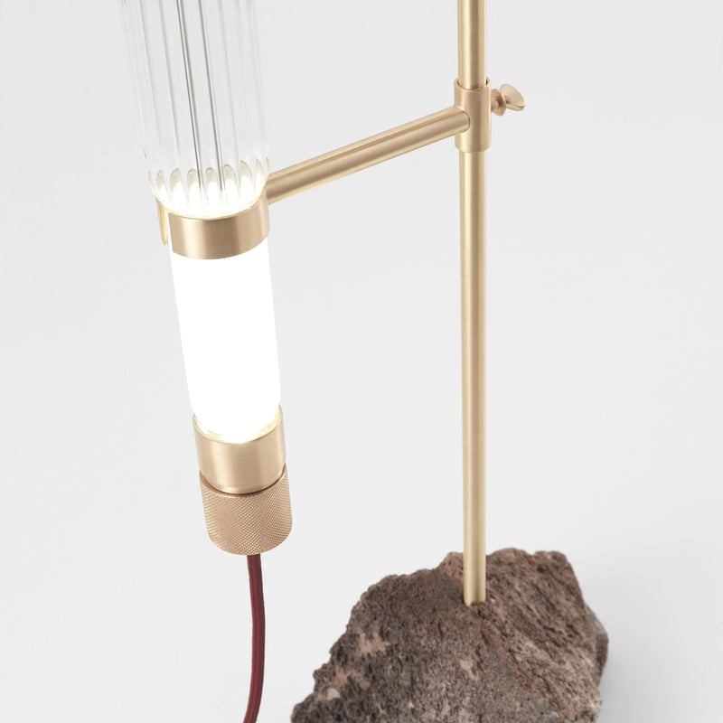 JCP Universe 'Kryptal' Table Lamp by CTRLZAK Light Detail