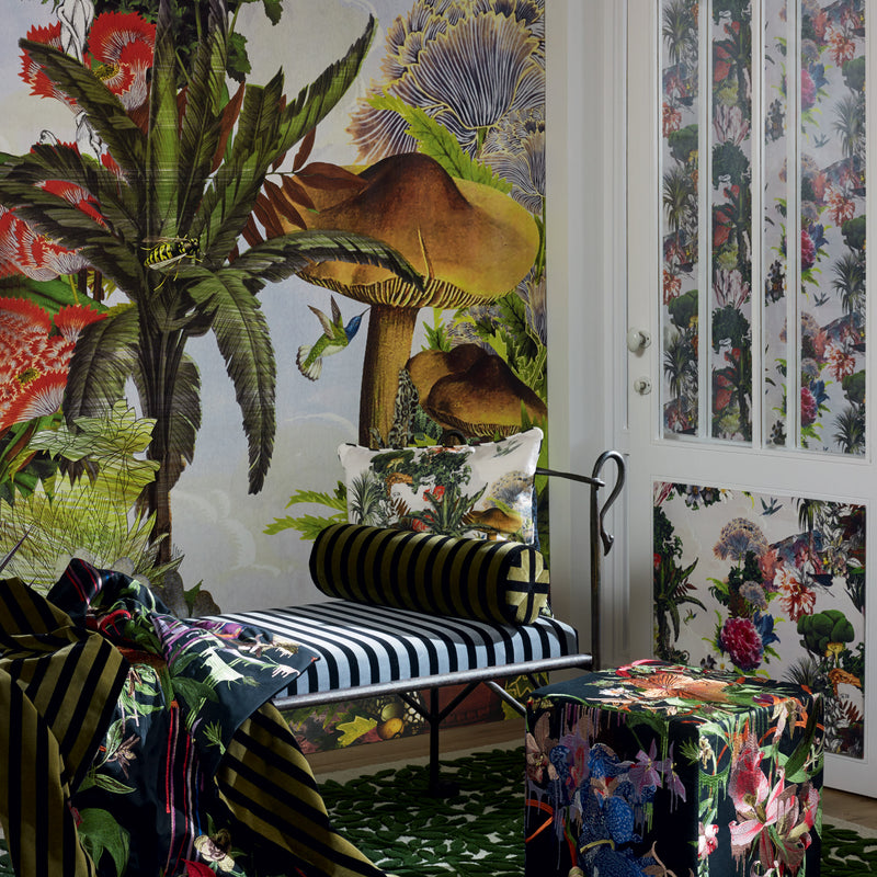 Christian Lacroix 'Jardin des Reves Panoramic' Wallpaper Roomset