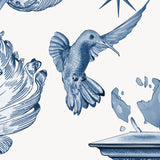 Kit Miles 'Europa' Wallpaper Blues Detail