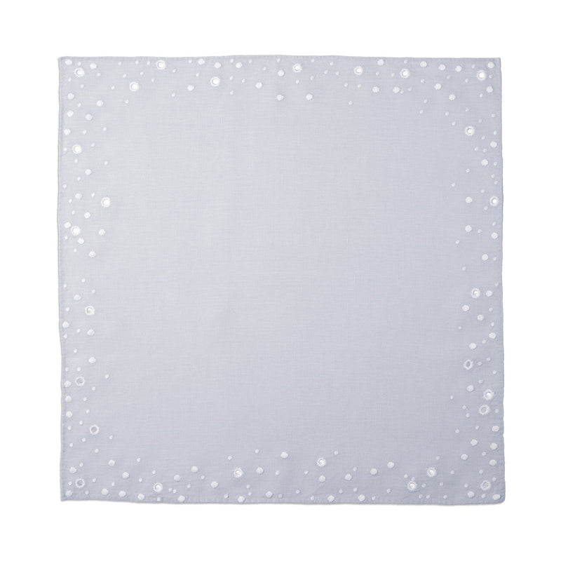 L'Objet x Haas Brothers 'Celestial' Napkins (Set of 4) - Blue Flat