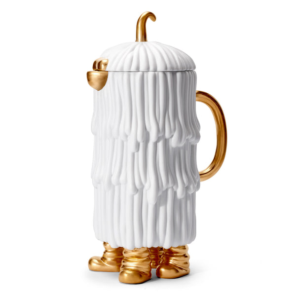 L'Objet x Haas Brothers 'Djuna' Coffee & Tea Pot - White