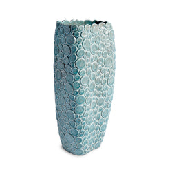 L'Objet x Haas Brothers Gila Monster Vase - Blue/Green Front