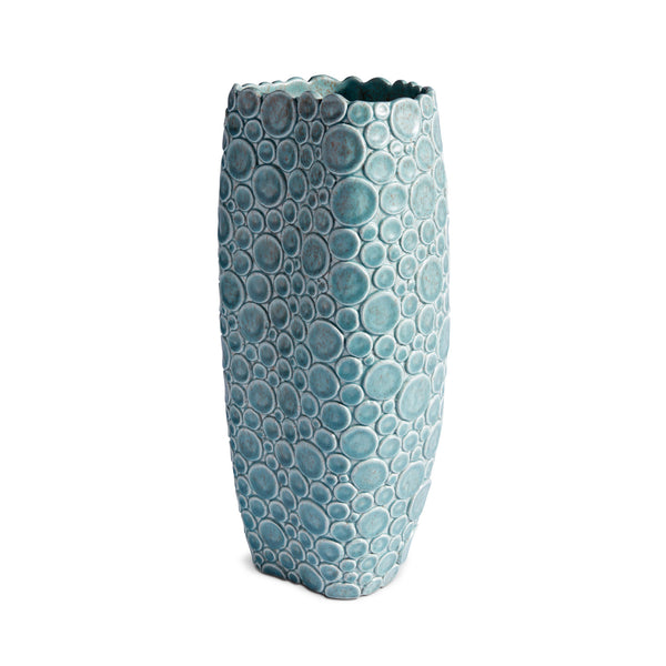 L'Objet x Haas Brothers Gila Monster Vase - Blue/Green Side
