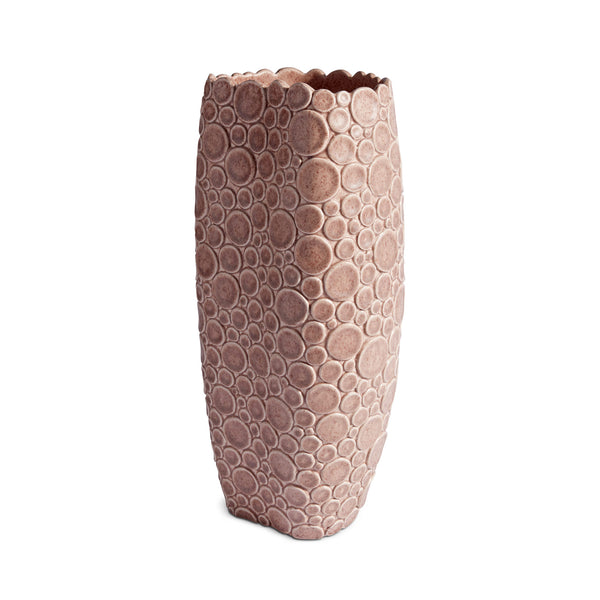 L'Objet x Haas Brothers Gila Monster Vase - Pink Side