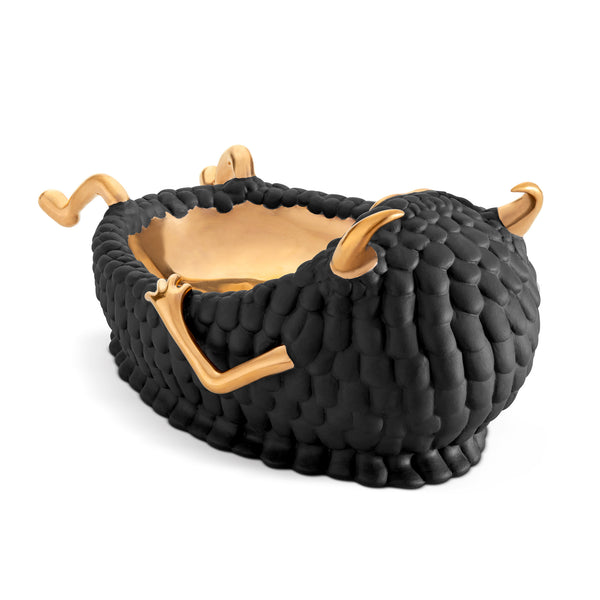 L'Objet x Haas Brothers Lazy Susan Catchall - Black Back