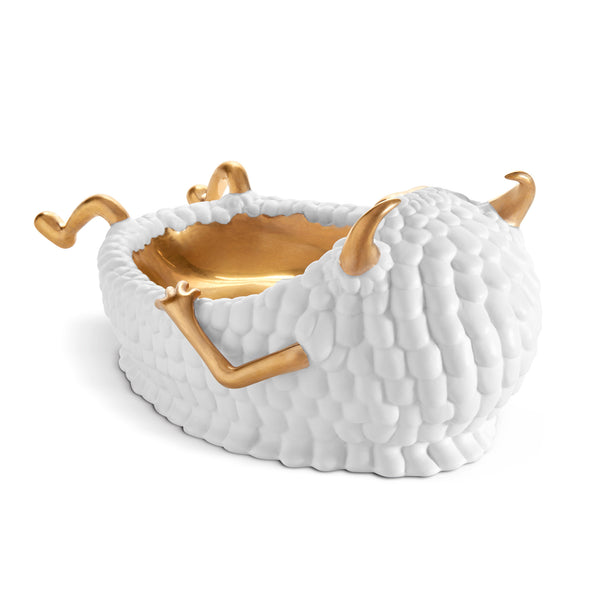 L'Objet x Haas Brothers 'Lazy Susan' Catchall - White Back