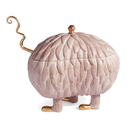 L'Objet x Haas Brothers Lukas Soup Monster Tureen - Pink Side