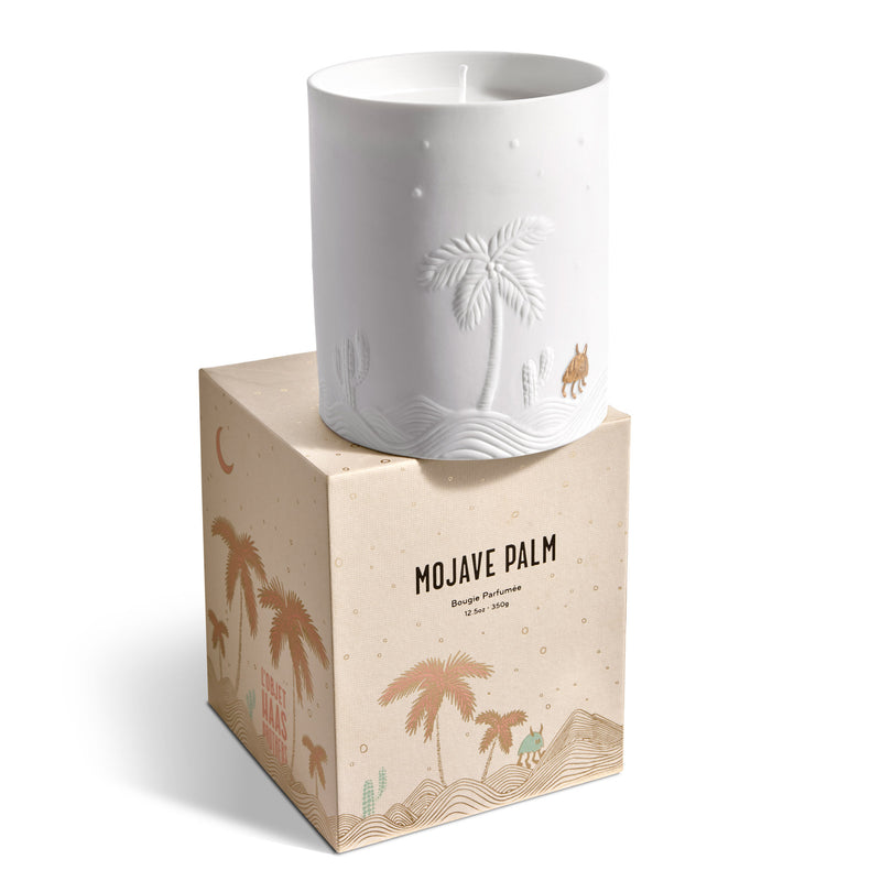 L'Objet x Haas Brothers 'Mojave Palm' Candle Box
