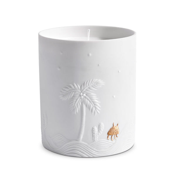 L'Objet x Haas Brothers 'Mojave Palm' Candle Front