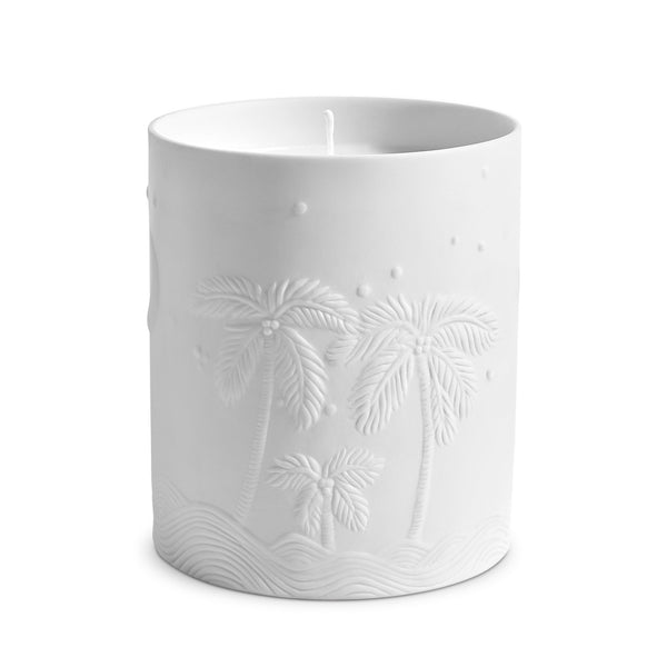 L'Objet x Haas Brothers 'Mojave Palm' Candle Side