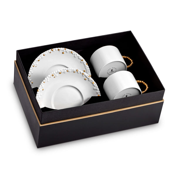 L'Objet x Haas Brothers Mojave Tea Cup & Saucer (Set of 2) Box