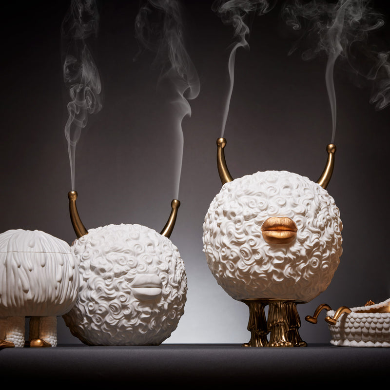 L'Objet x Haas Brothers 'Monster' Incense Burner Mood