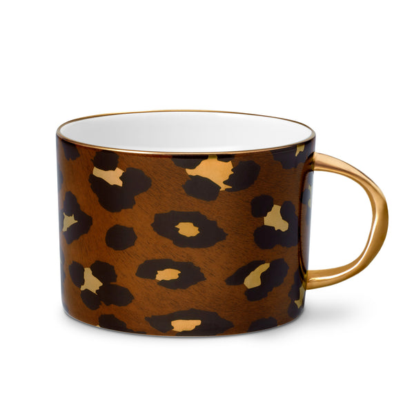 L'Objet 'Leopard' Tea Cup & Saucer (Set of 2) Cup