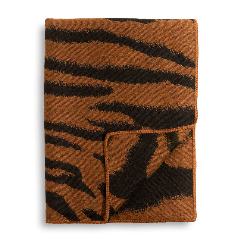 L'Objet 'Tiger' Jacquard Throw - Natural