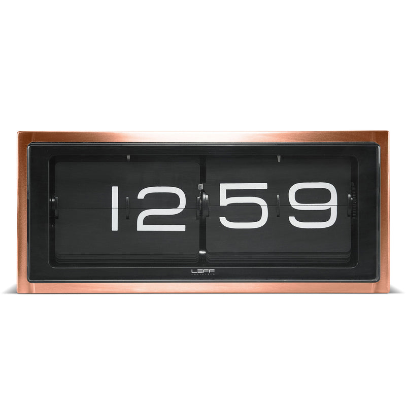 Brick Clock Copper Front