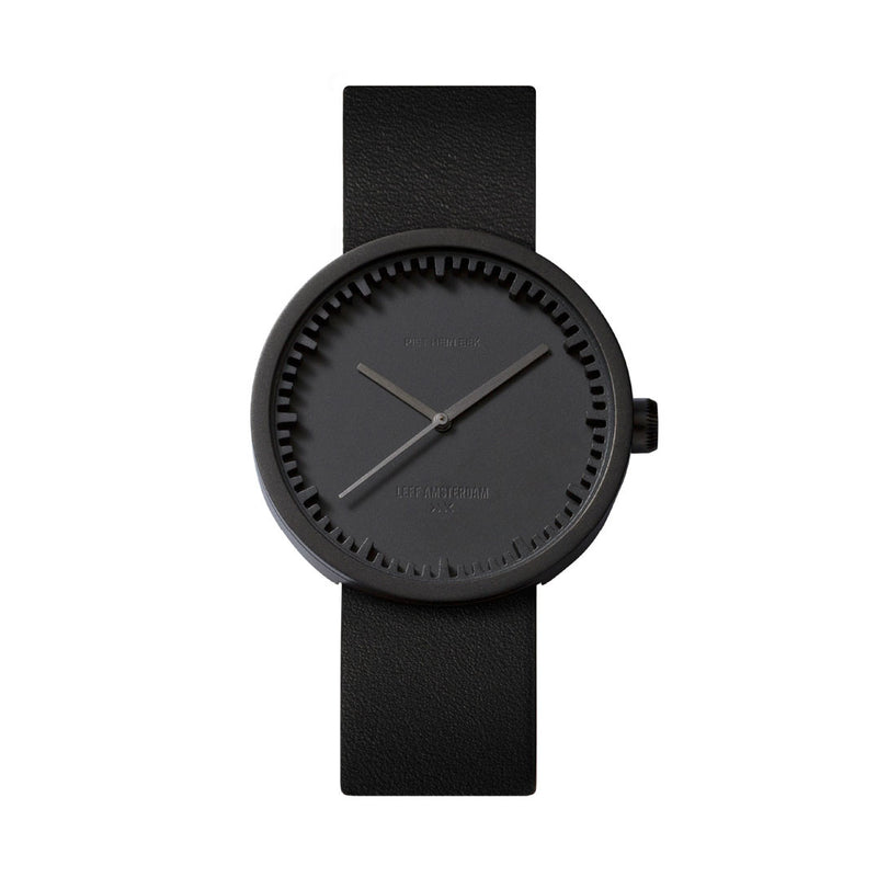 Tube Watch D38 Black/Black Front