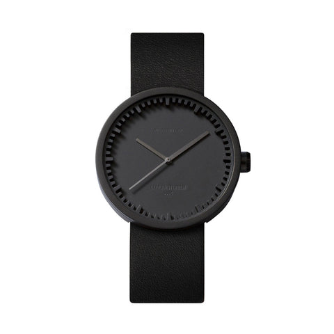 LEFF amsterdam Tube Watch - D38 Black/Black