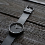 Tube Watch D38 Black/Black On Bench